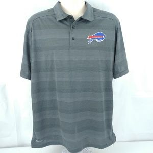 Nike Shirts - Nike Golf Buffalo Bills Dri-Fit Polo Shirt Large 285ff16b7